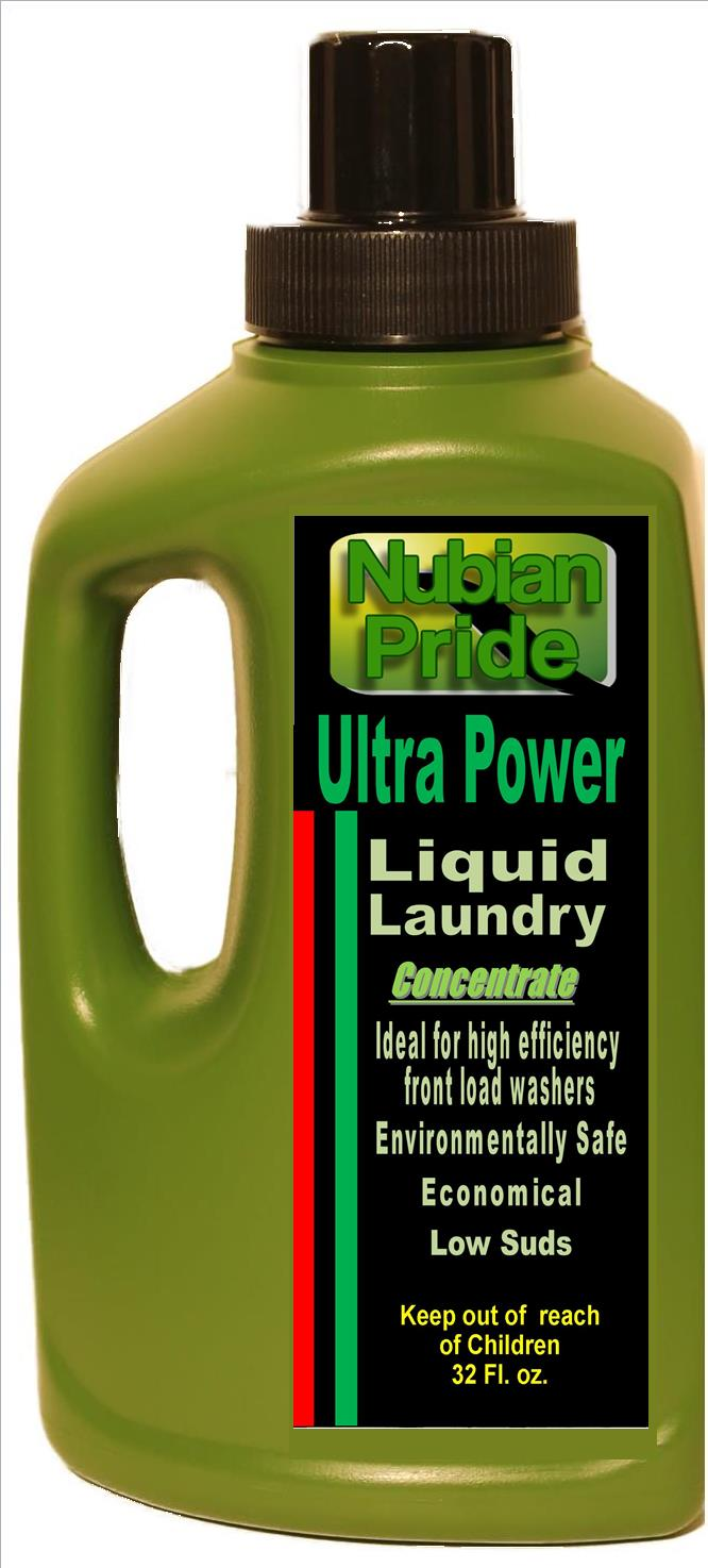 Npllc Nubian Pride Quot Ultra Power Quot Liquid Laundry Laundry